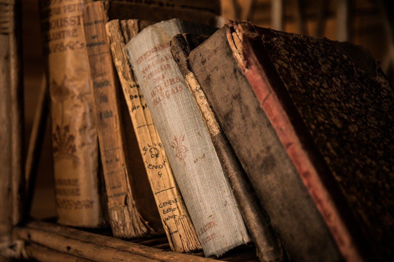 old books, book, old